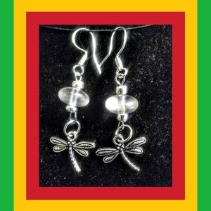 SEA GLASS AND DRAGONFLIES